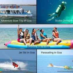 Enjoy the various adventure sports in Goa
