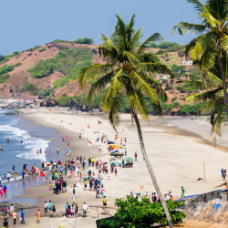 Mobor Beach- Party hub in South Goa