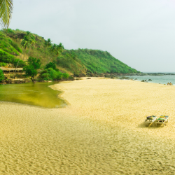 Ozran Beach - Picturesque Place In Goa
